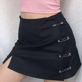 SAFETY PIN SKIRT