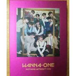 [READY STOCK] WANNA ONE - 1-1=0 Nothing With You [ONE ver.]