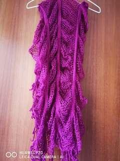 scarf pink new