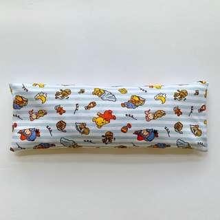 🚚 🌈 Bean Sprout Husk Pillow / Beanie Pillow ( 100% Handmade ) Jersey Cotton , Premium Quality!) size 15 x 40cm baby Pooh bear