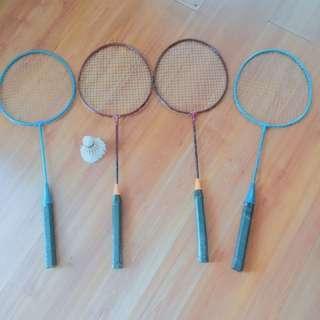 Badminton set of 4
