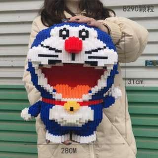 NEW Doraemon Magic Block 31cm Height