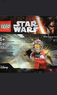 🚚 Lego Star Wars rebel a-wing pilot polybag