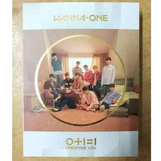 [READY STOCK] WANNA ONE - 0+1=1 [ I PROMISE YOU ] 2ND MINI ALBUM (DAY ver.)