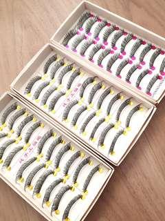 🚚 False eyelashes 10 pairs