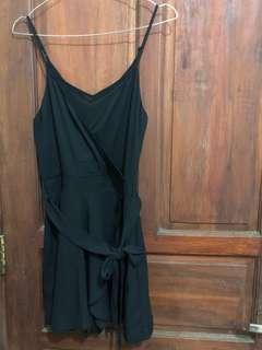 Express Playsuit Black