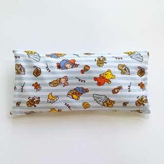 🚚 🌈 Bean Sprout Husk Pillow / Beanie Pillow ( 100% Handmade ) Jersey Cotton , Premium Quality!) size 15 x 30 cm baby Pooh bear