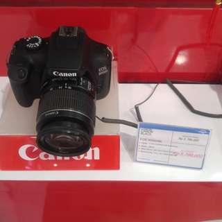 Promo cicilan 0% kamera canon 3000d tanpa kartu kredit proses kilat