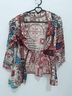 Preloved Batik Cardigan
