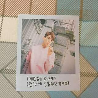 wts joshua official pc love & letter repackaged album