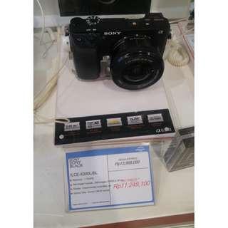 Cicilan 0% kamera sony a6300 ga pakai kartu kredit proses kilat