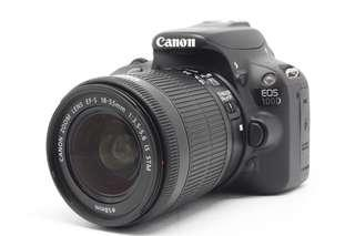 Canon 100D with 18-55mm IS STM (LIKE NEW)