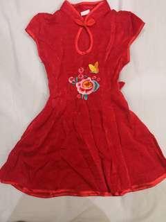 Girl cheongsam Dress