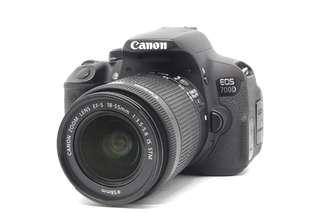 Canon 700D with 18-55mm IS STM (BARGAIN)