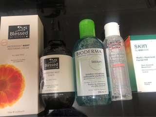 Assorted skincare pack
