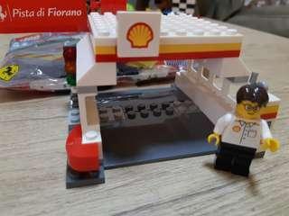 LEGO FERRARI SHELL STATION