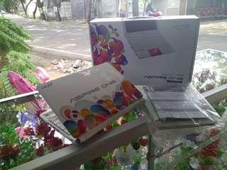 netbook notebook acer aod270 intel atom ram 2gb fullset pink putih