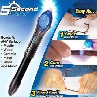 ★5 Second Fix Repair Super Glue with UV Light ★FAQ.SG