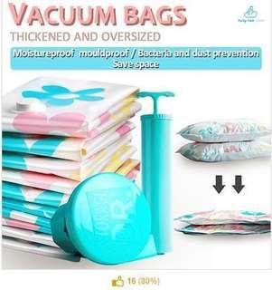 ★Vacuum Storage Bag Set of 11 with pump available ★Travel Bag Air tight Space compression Foldable storage box ★Traveling universal power adapter ★FAQ.SG