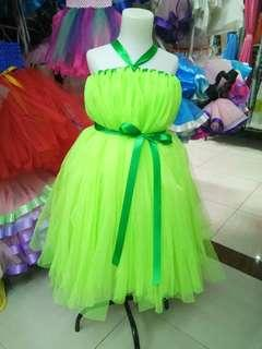 Thinker bell tutu dress