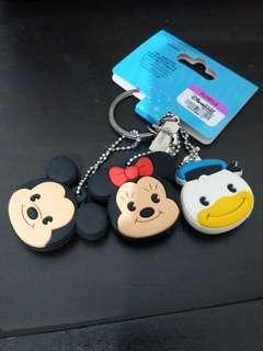🚚 Set of 3 key head cover Hong Kong Disneyland