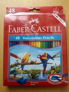 Faber-Castell 48 water colour pencils