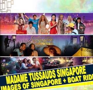 🚚 Madame Tussauds/Images Of Singapore/Boat Ride