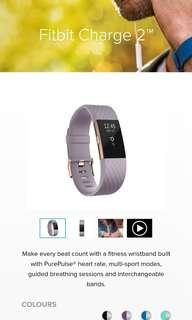 Fitbit Charge 2 special edition Rose Gold