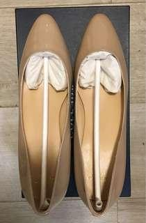 Cole Haan Nude Patent Leather Catalina Wedge
