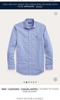 Polo Ralph Lauren 男裝 Poplin Shirt