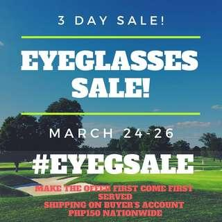 3 day eyeglasses Sale