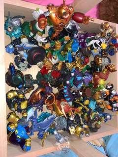 Skylanders Wii Game including figurines
