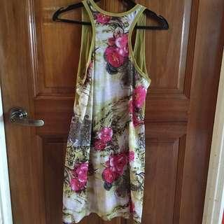 🚚 (3 for $10) Floral dress/long blouse