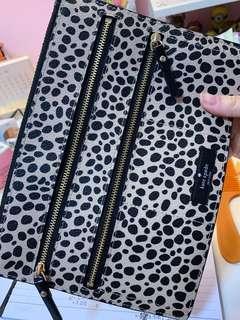 🚚 Kate Spade Leopard Clutch