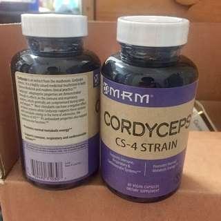 現貨* MRM CS-4蟲草60粒,健康 增強免疫力,改善鼻敏感