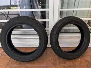 IRC Tubeless Tyre for Scooter