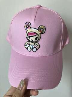 🚚 Tokidoki Donutella SnapBack cap
