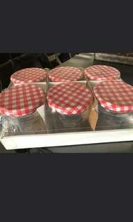 食物儲存玻璃樽(1Set)
