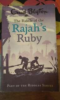 Enid Blyton The Riddle of the Rajah's Ruby