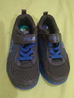 Fila Blue & Grey Rubbershoes