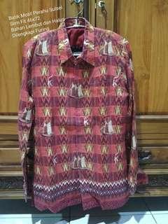 Batik Model Sulawesi Selatan Slim Fit