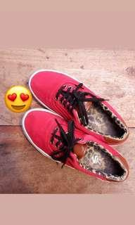VANS ERA RED LEOPARD