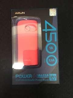 ARUN 充電器 4500容量
