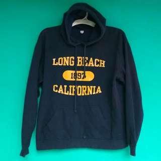 hoodie longbeach california - hoodie - full over hoodie