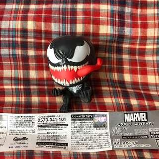 Capchara Marvel Spiderman-Venom  蜘蛛俠扭蛋-猛毒