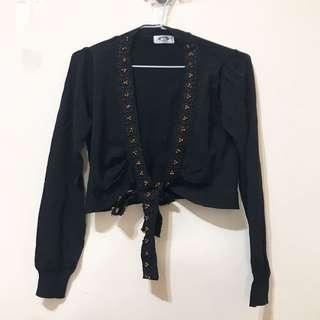 🚚 短版黑外套