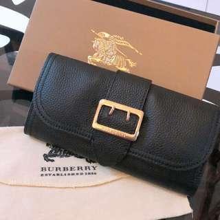 BURBERRY 黑色長夾 不二價不含運