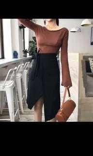 Black skirt BNWT