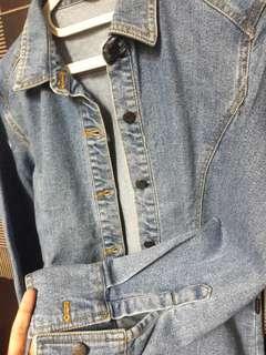 Jaket/Kemeja Jeans Dust