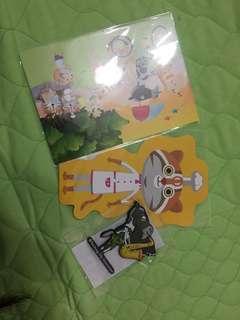 🚚 花博紀念品(明信片及磁鐵